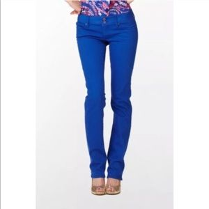 Lilly Pulitzer • Worth Straight Jeans Sz 0